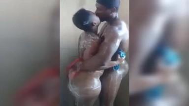 Showering together