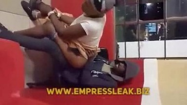A Drunk Old Ashawo Woman Fucked At A Party